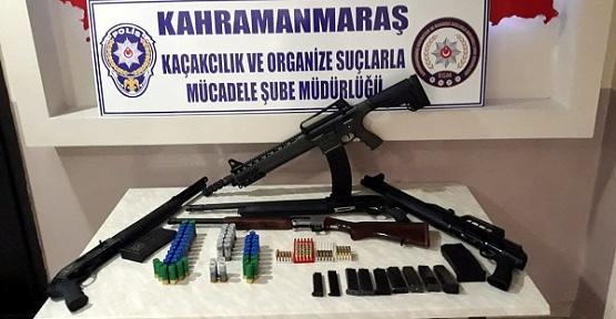 Silah Operasyonunda Mahkum Yakalandı