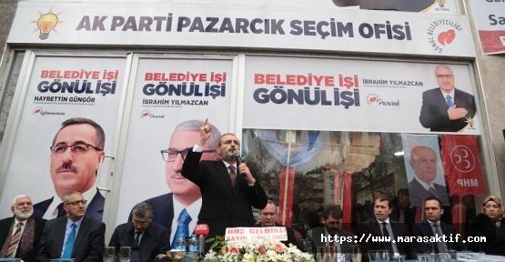 Ünal, Pazarcık'ı Ziyaret Etti