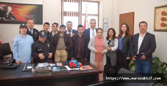 Öğrenciler Akdoğan'ı Ziyaret Etti