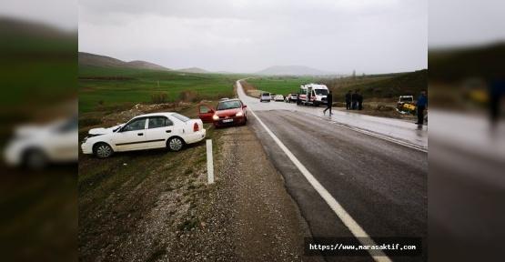 Traktöre Arkadan Çarptı 3 Yaralı