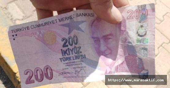 Alış Verişte Sahte Parayla Yakalandı