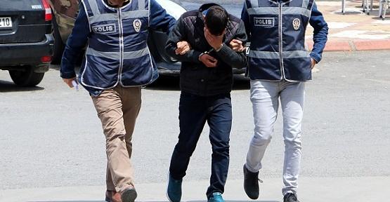 Boru Hırsızı Tutuklandı
