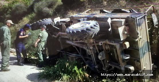 Askeri Araç Devrildi 19 Yaralı