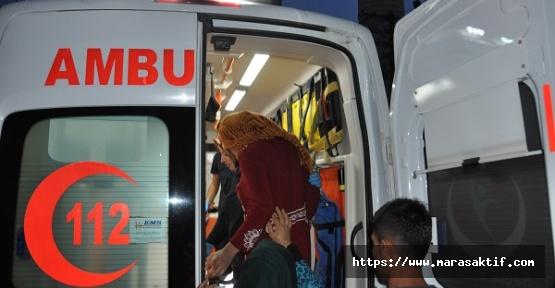 Elektrik Çarpan Kız Yaralandı