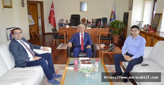 Genç Kahramanmaraşlılar'dan Rektöre Ziyaret