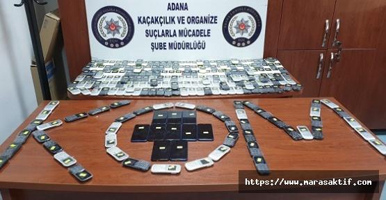 Kaçak Telefonlar Kargoyla Gönderildi