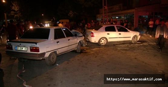 Kahramanmaraş'ta 5 Kişi Yaralandı