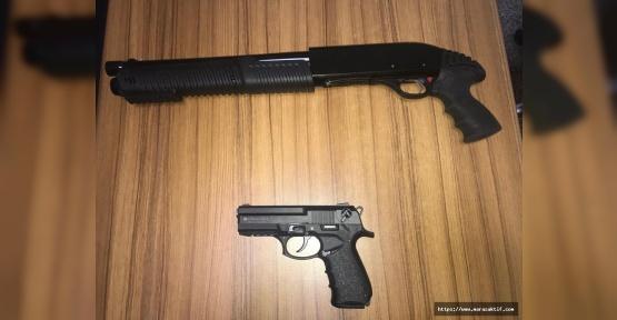 Kahramanmaraş'ta Silahlı Kavga 2 Yaralı