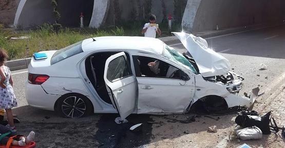Kazada Aynı Aileden 6 Yaralı Var