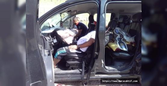 Kazada 4 Kişi Yaralandı