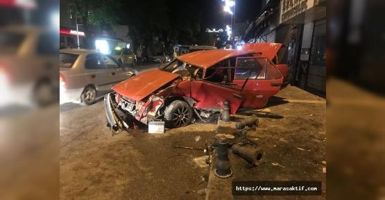Kazalarda 11 Kişi Yaralandı