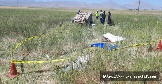 Tatil Dönüşünde Kaza 3 Ölü 4 Yaralı