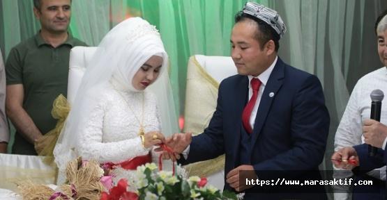 Uygur Türkleri Kahramanmaraş'ta Evlendi