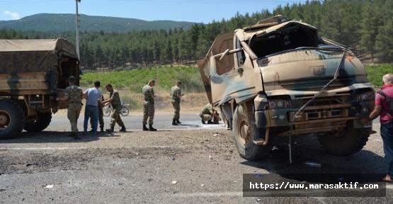 Askeri Araç Devrildi 2 Yaralı
