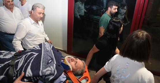 Berit Dağı'nda Yaralan Müdür Kurtarıldı