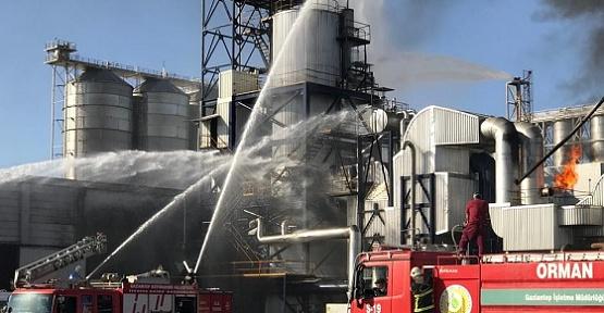 Fabrikada Yangın Çıktı 4 İşçi Ağır Yaralı