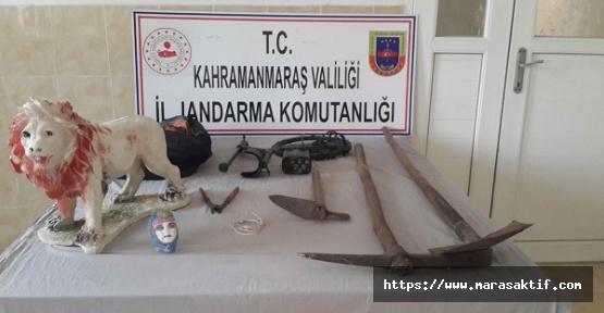 Kaçak Kazı Yapanlar Gözaltına Alındı