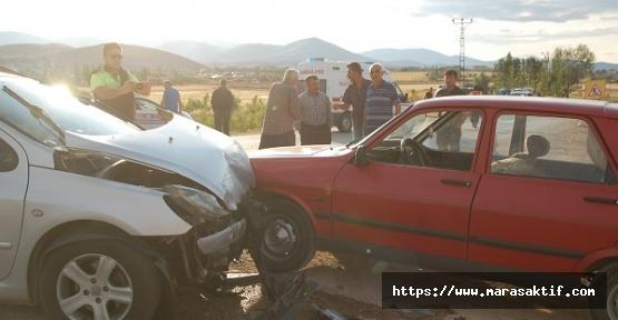 Kahramanmaraş'ta Zincirleme Kaza 8 Yaralı