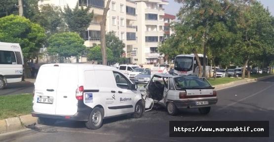 Kazada 9 Kişi Yaralandı