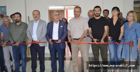 KSÜ'de 15 Temmuz Sergisi Açıldı