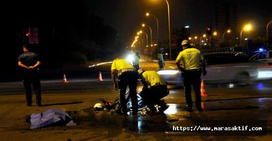 Motosiklet Sürücüsü Öldü