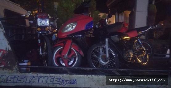 Motosikletlilere Ceza Yağdı