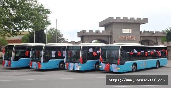 Otobüsler 15 Temmuz'da Ücretsiz