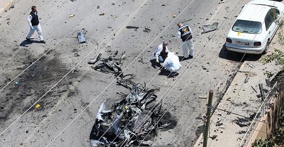 Otomobil Patladı 2 Kişi Öldü