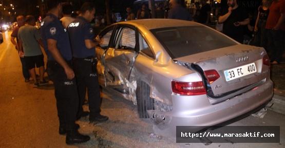 Otomobil Kaza Yaptı 5 Yaralı