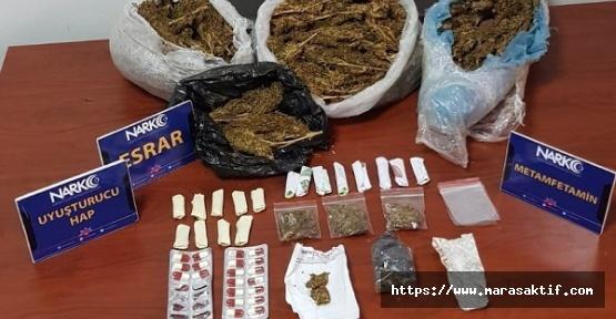 Uyuşturucudan 7 Kişi Gözaltında