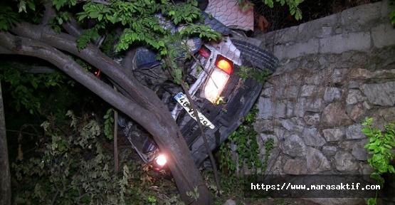Elbistan'da Kaza 12 Yaralı