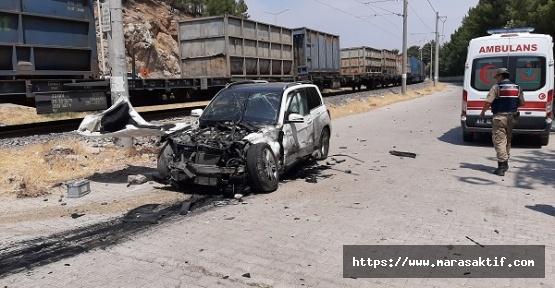 Hemzemin Geçitte Kaza 5 Yaralı