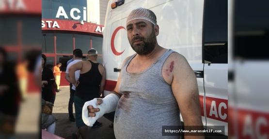 Kahramanmaraş'ta Kavga 10 Yaralı