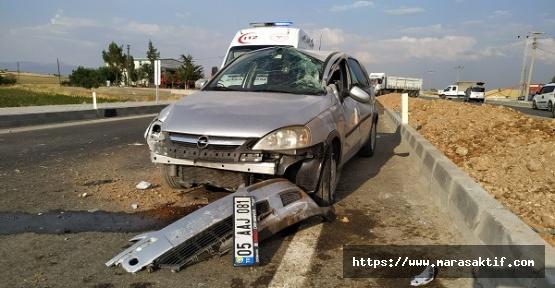 Kazada 1'i Çocuk 3 Yaralı Var