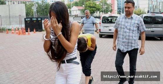 Kız Kardeşler Suçüstü Yakalandı