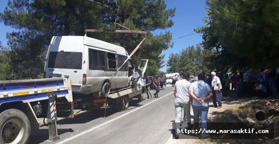 Lastik Patladı 2 Ölü 2 Yaralı