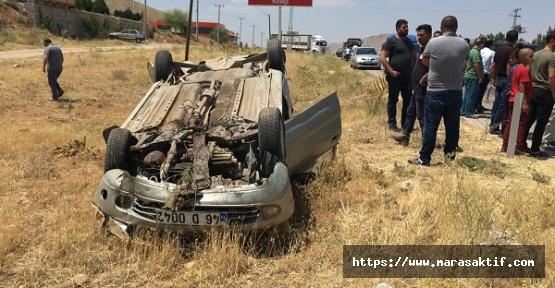 Nakil Aracıyla Otomobil Kaza Yaptı