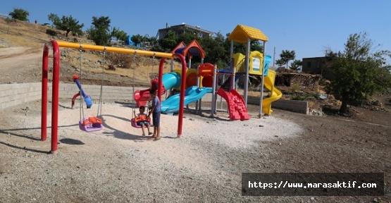 Parklar Yapılıyor Çocuklar Seviniyor