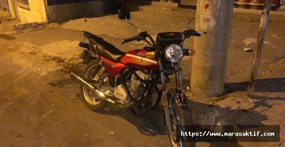 1 Motosiklet Devrildi 4 Kişi Yaralandı