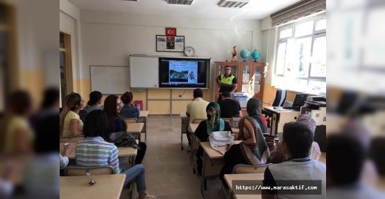 Eğitimcilere Trafik Eğitimi Verildi