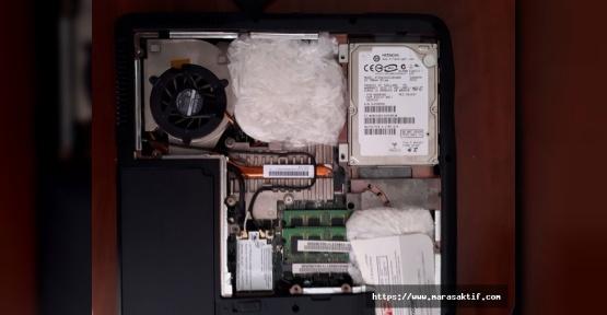 Laptopta Uyuşturucu Çıktı
