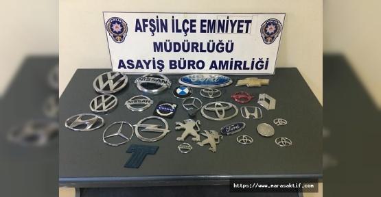 Amblem Hırsızları Yakalandı