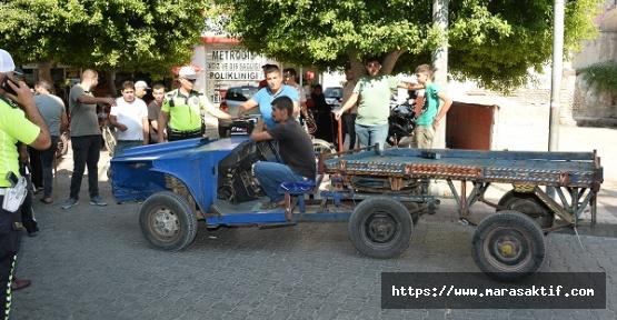 At Arabası Görünümlü Otomobil Men Edildi