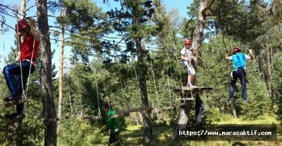Doğa Kampına 200 Öğrenci Katıldı