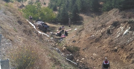 Kahramanmaraş'ta Otomobil Devrildi 1 Ölü 2 Yaralı