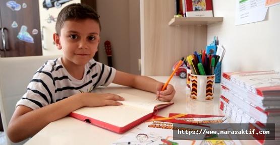 Küçük Yazar İkinci Kitabını Hazırlıyor