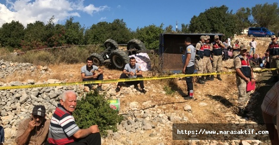 Traktör Devrildi Çocuk Öldü