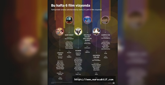 Vizyonda 6 Film