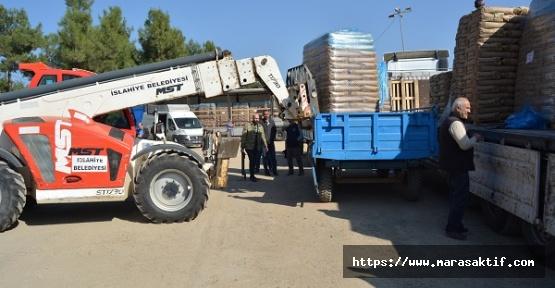 130 Ton Buğday Tohumu Dağıtıldı