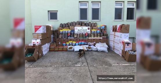 6 Ton Kaçak Tütün Ele Geçirildi